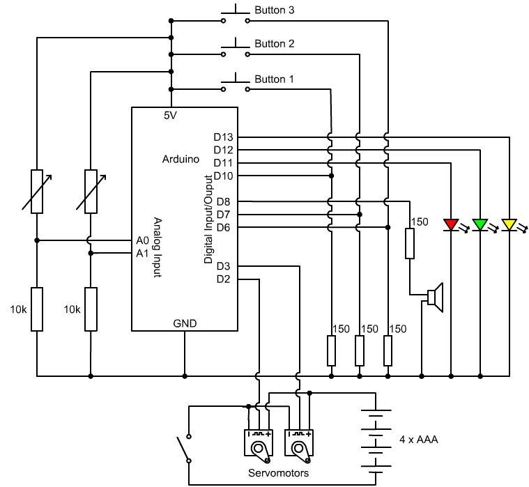 laser circuit : Light Laser LED Circuits :: Next.gr