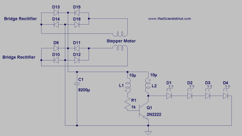 small resolution of joule thief circuit kit