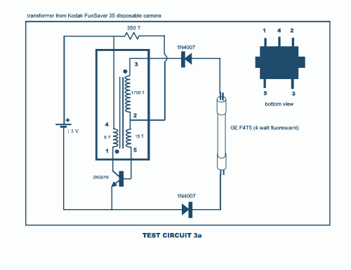 small resolution of joule thief circuit diagram