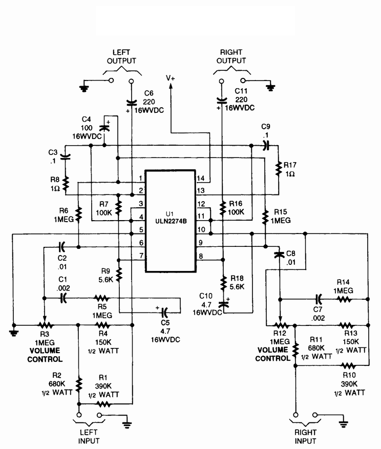 High Power Dj Amps 2 Channel Amp Wiring Diagram