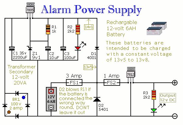 Og Camera Wiring Diagram Alarm Circuit Page 3 Security Circuits Next Gr