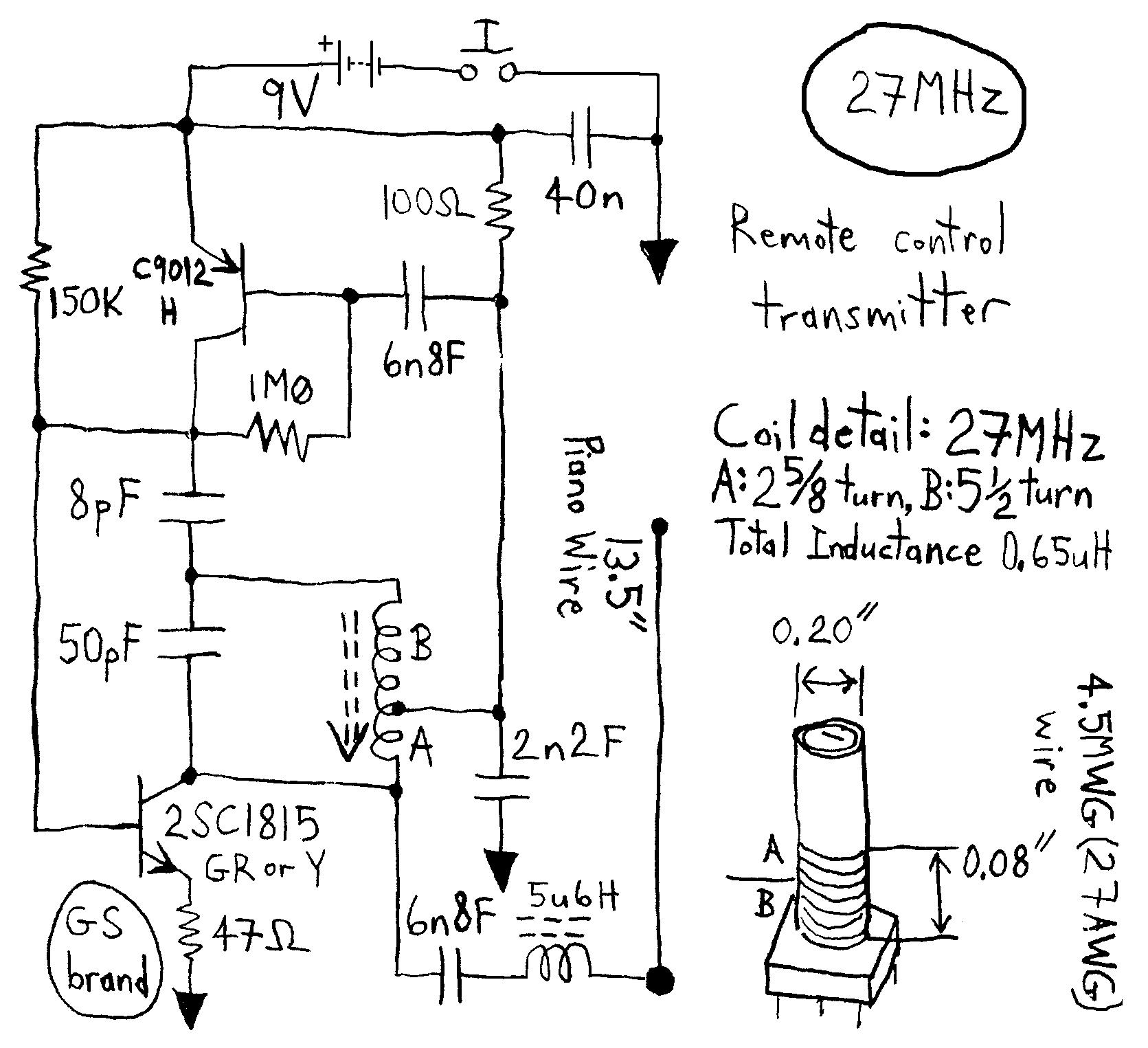 > rf > transmitters > atv jr transmitter 440mhz circuit