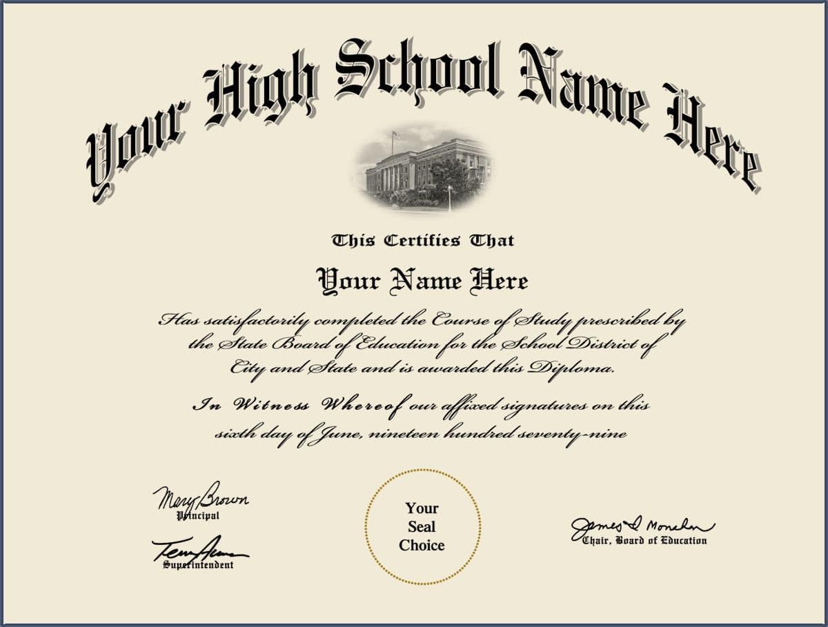 Diploma: Free High School Diploma