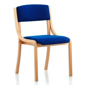 Madrid Visitor Chair Blue Without Arms