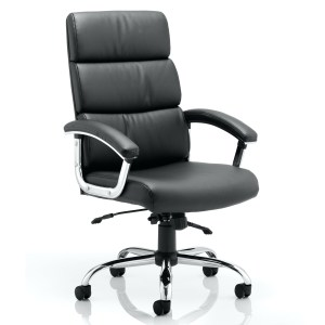 Desire High Executive Chair Black With Arms
