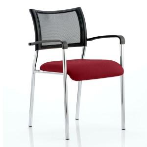 Brunswick Bespoke Colour Seat Chrome Frame Gingseng Chilli