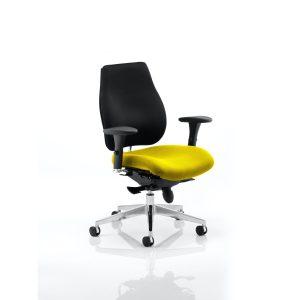 Chiro Plus Bespoke Colour Seat Senna Yellow