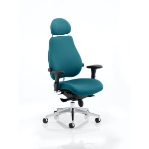 Chiro Plus Ultimate With Headrest Bespoke Colour Maringa Teal