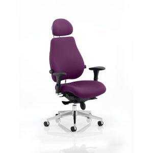 Chiro Plus Ultimate With Headrest Bespoke Colour Tansy Purple