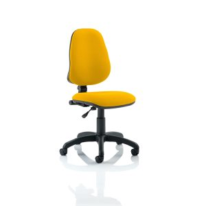 Eclipse I Lever Task Operator Chair Bespoke Colour Senna Yellow