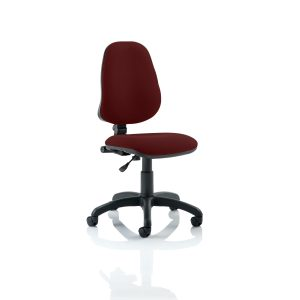 Eclipse I Lever Task Operator Chair Bespoke Colour Gingseng Chilli