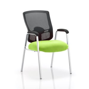 Portland Visitor (Straight Leg) Bespoke Colour Seat Myrhh Green