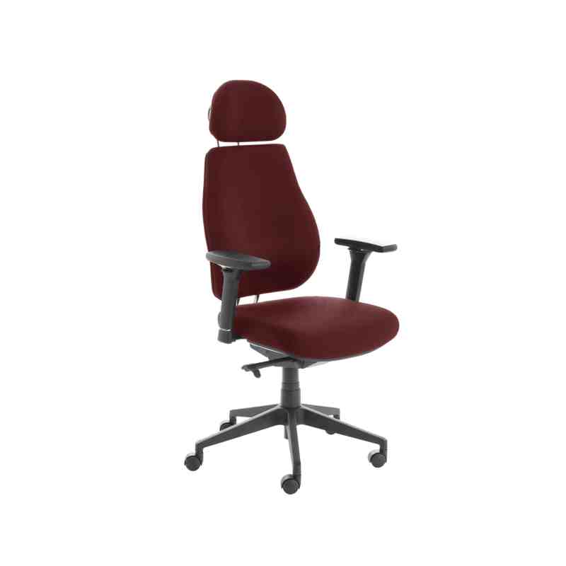 Chiro Plus Lite With Headrest Fully Upholstered Ginseng Chilli