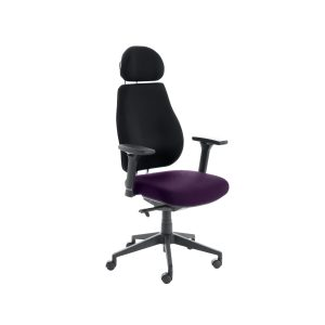 Chiro Plus Lite With Headrest Upholstered Seat Only Tansy Purple