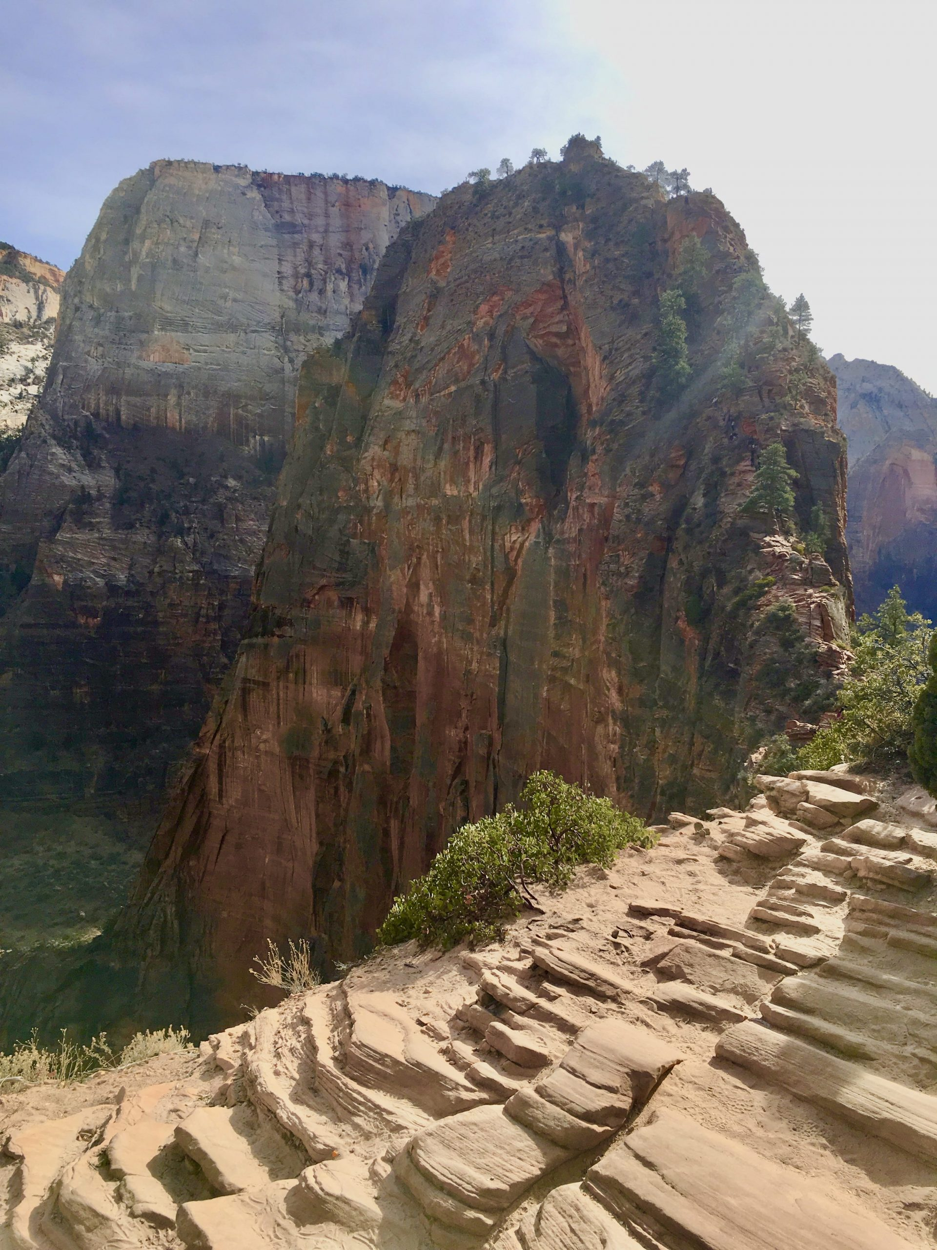 Angel's Landing - One of the Hikes at Zion National Park