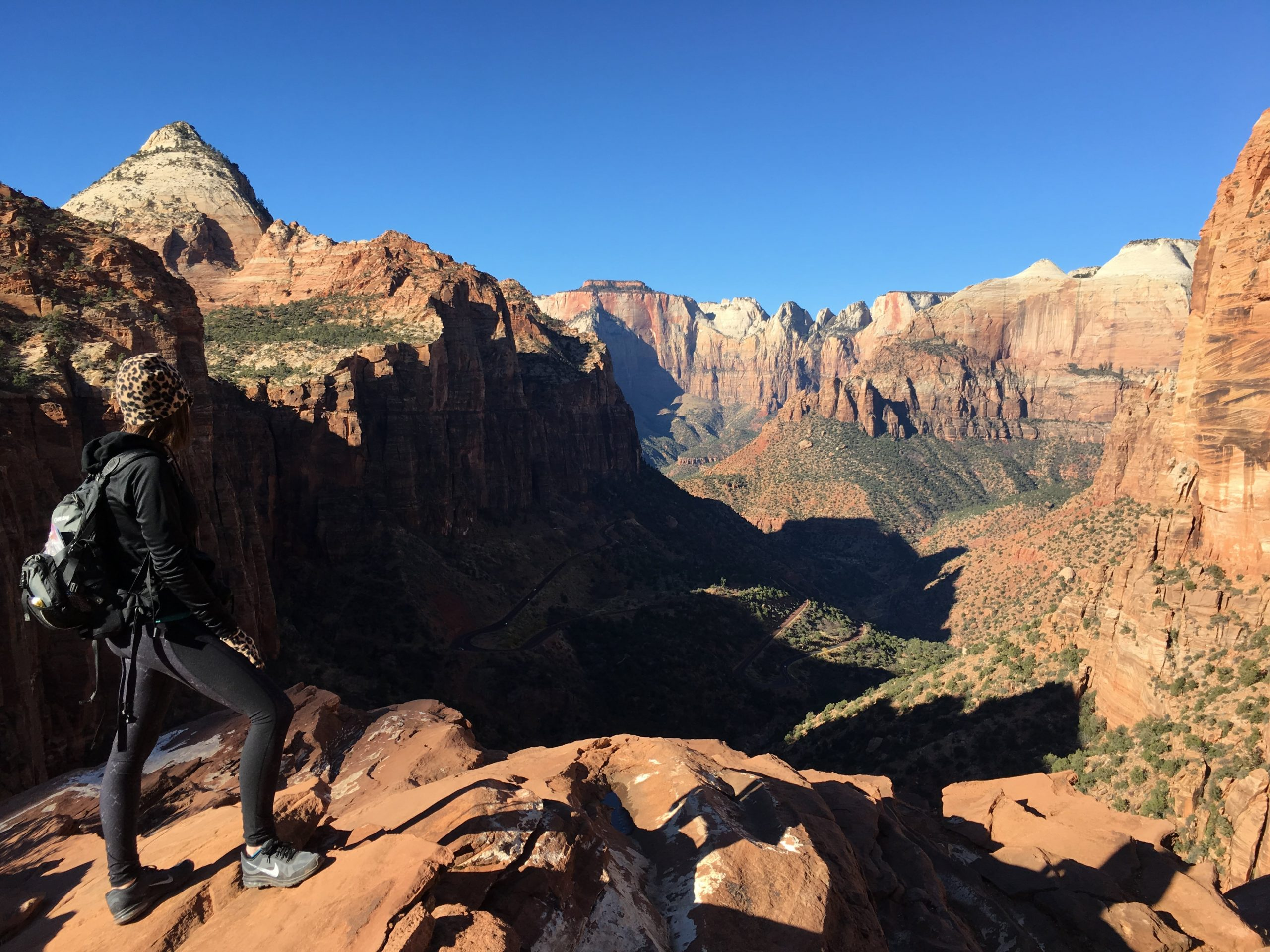 View from Canyon Overlook Trail at Zion National Park