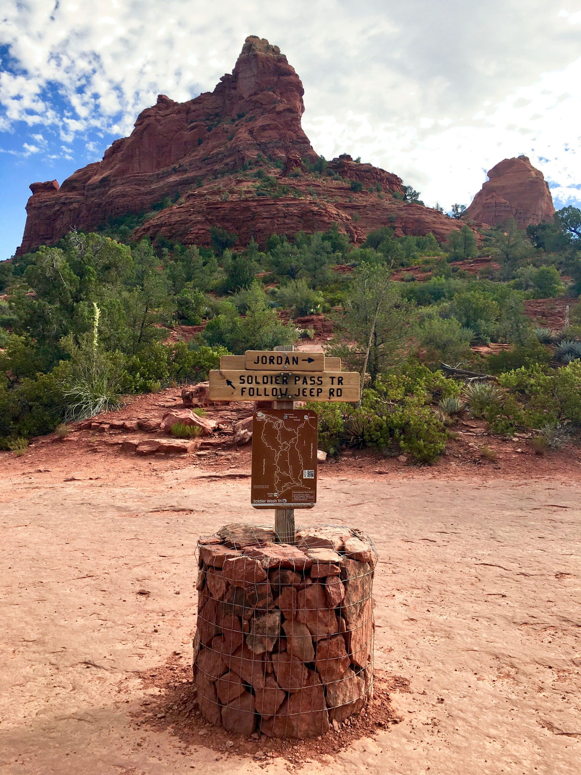 Soldier Pass Trail in Sedona Arizona