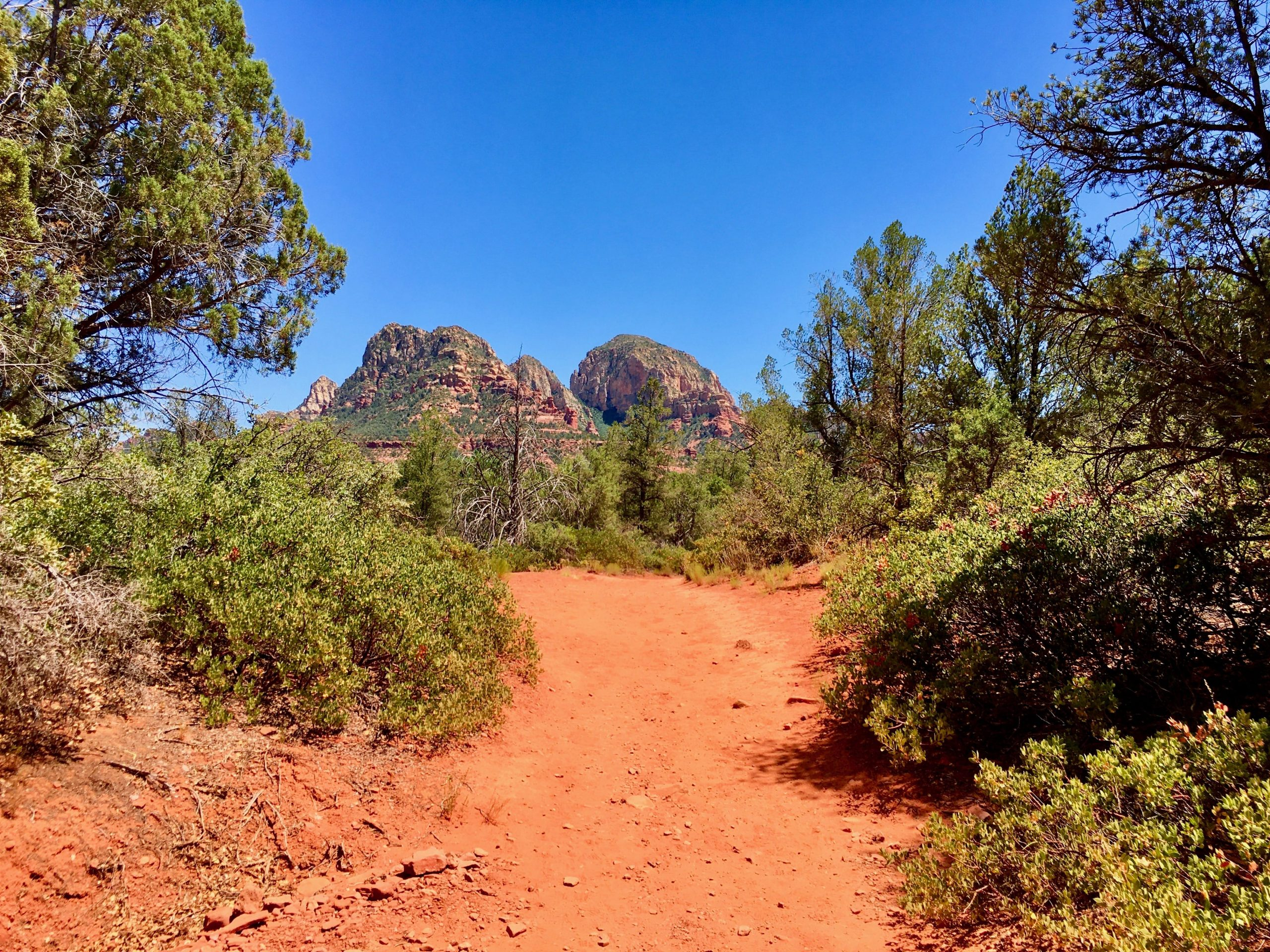 The Birthing Cave Trail on Long Canyon Trail Sedona
