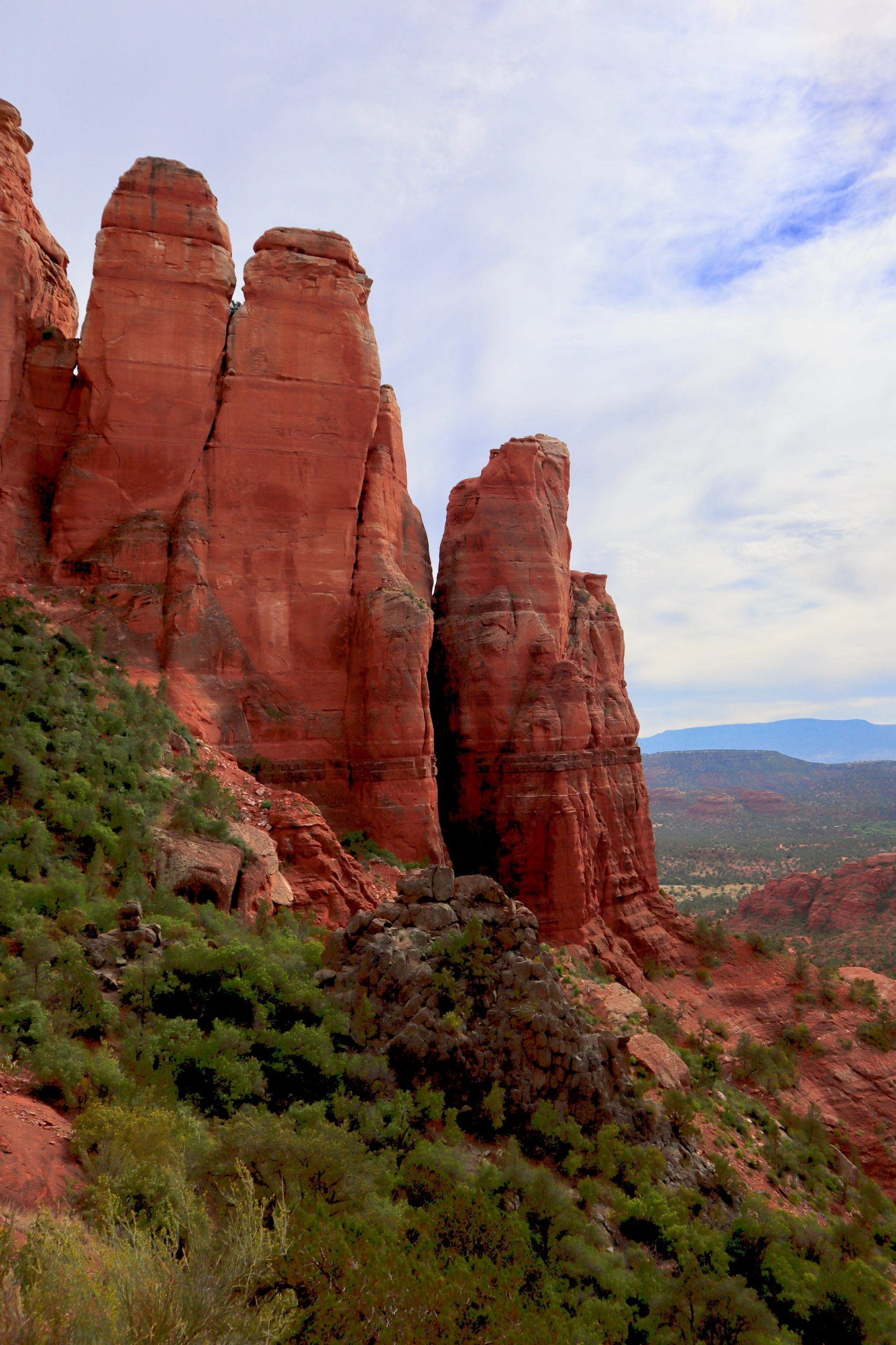 View at the End of Cathedral Rock Trail Sedona