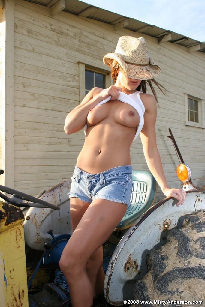 Farmgirl Misty does her work nude  Nextdoor Mania