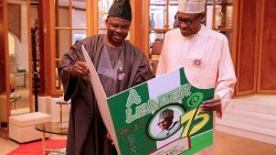 Surprise visit to Buhari at 75