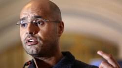 Gaddafi's son set for Libyan presidency