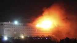 Gunmen storm hotel, many casualties feared