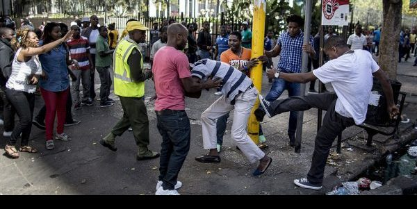 Image result for Mob destroys four Nigerian shops, houses in South Africa