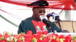 PhD: Buhari, others applaud OBJ at NOUN's convocation