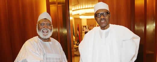 After OBJ, IBB's attacks, Buhari meets with Abdulsalami Abubakar
