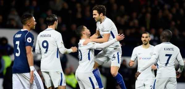 Chelsea beat West Brom to move back into EPL top 4
