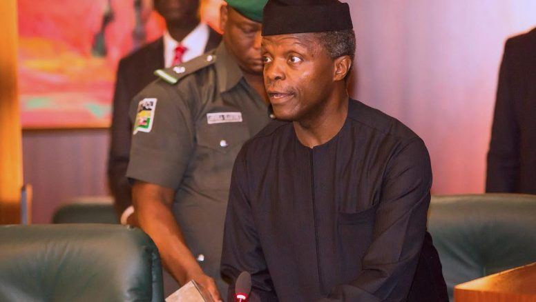 Osinbajo urges Nigerians to fight corruption