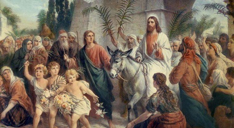 Christians celebrate Palm Sunday