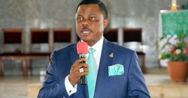 Anambra: Obiano swears in new commissioners, special advisers