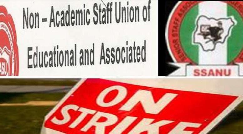 SSANU, NAAT, NASU call off strike