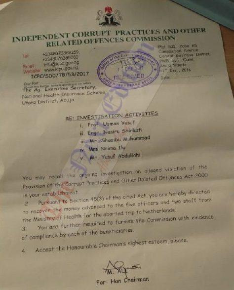 INVESTIGATION: How Buhari Overruled VP Osinbajo, Top Aides, EFCC, ICPC to Reinstate NHIS Chief