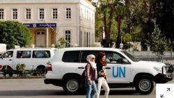 Gunmen shoot UN team in Syria