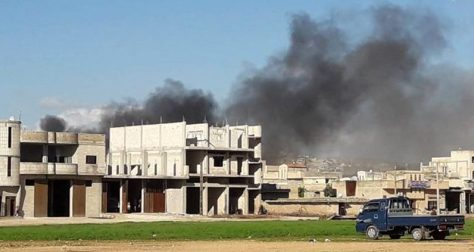 Chlorine possibly used in attack in Syria's Saraqeb