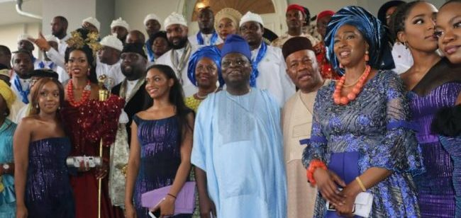 WEDDING: Akpabio, Ayade, others at the traditional marriage of Donald Duke's daughter