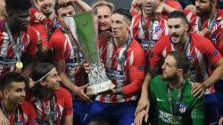 Atletico Madrid win Europa League with an absent manager
