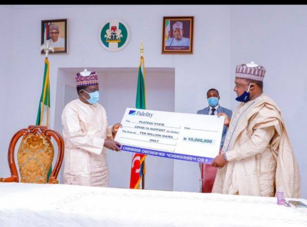 COVID-19: Fidelity Bank Donates N10m To Kano Govt