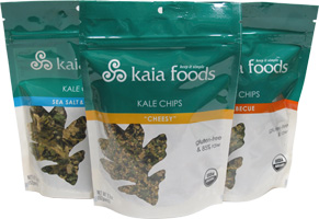 Kaia Foods Kale Chips - $4-$6