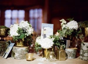 Flowers And Postcards Memory Table