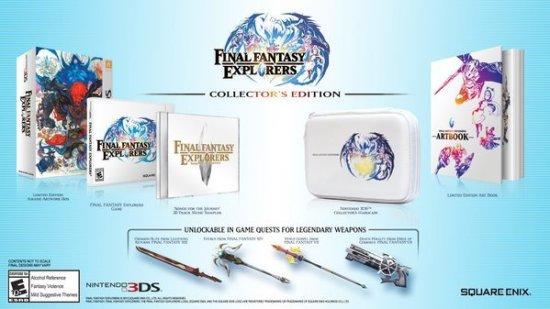 Final Fantasy Explorers Collector Edition