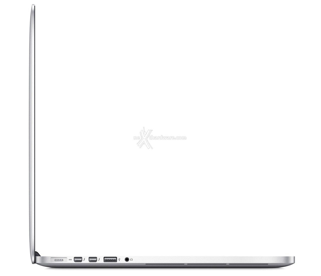 Apple MacBook Pro, Retina Display a 2880x1800pixel