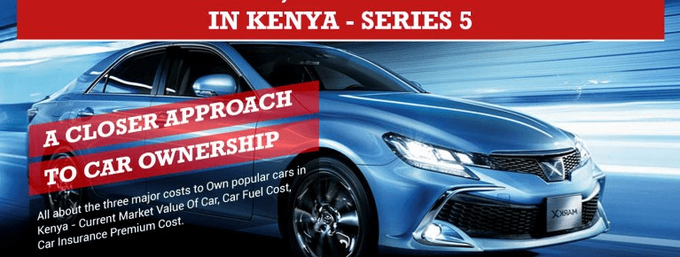 Car Ownership Cost, Top 5 Cars in Kenya Infographic – Series 5