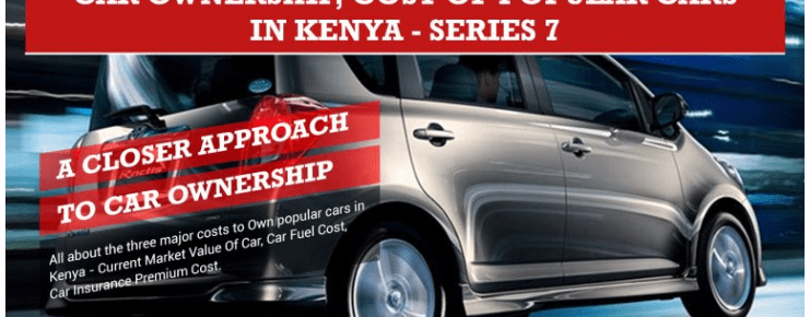 Car Ownership Cost, Top 5 Cars in Kenya Infographic – Series 7