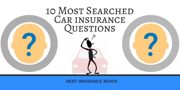 10 Most Searched Car insurance Questions You Ought to Know in 2018