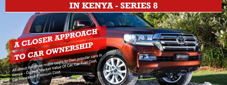 Car Ownership Cost, Top 5 Cars in Kenya Infographic – Series 8