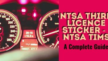 NTSA Fines & Penalties For Traffic Offences in Kenya